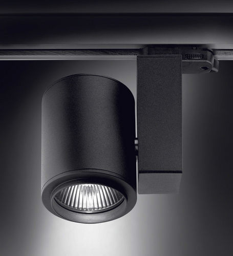 LED track light / HID / round / aluminum