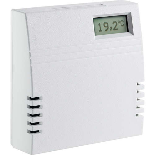 temperature detector / humidity / carbon dioxide / wall-mounted