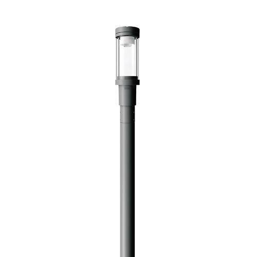 urban lamppost / contemporary / cast aluminum / PMMA