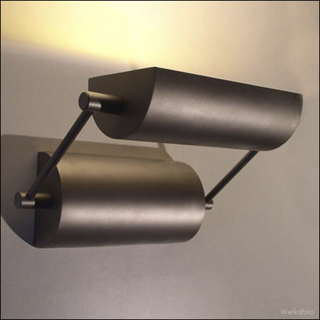 contemporary wall light / outdoor / stainless steel / glass