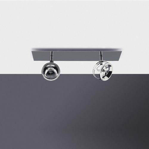 ceiling-mounted spotlight / indoor / LED / halogen