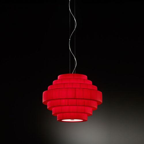 pendant lamp / contemporary / glass / compact fluorescent