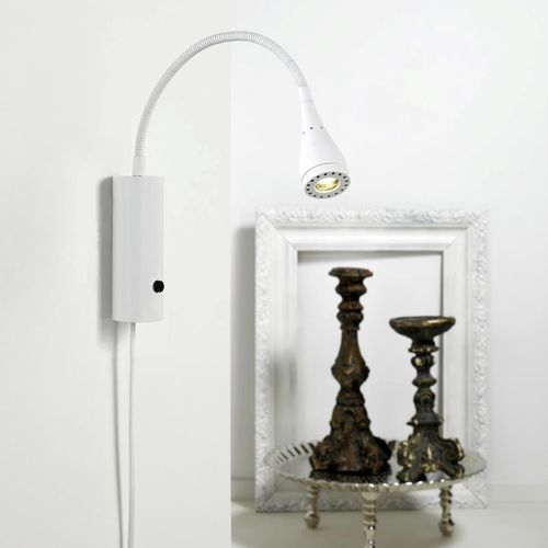 contemporary wall light / metal / LED / IP20