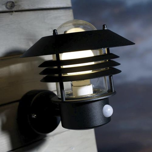 industrial style wall light / outdoor / galvanized steel / incandescent