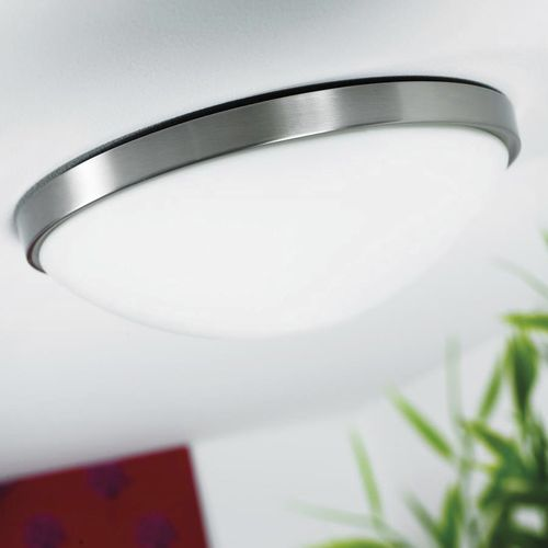contemporary ceiling light / round / steel / incandescent
