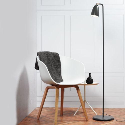 floor-standing lamp / contemporary / metal / incandescent
