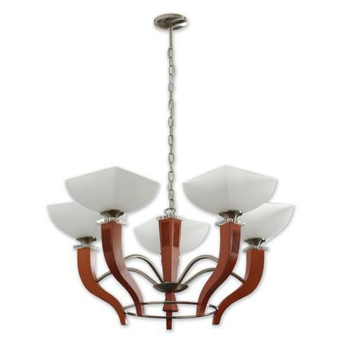 traditional chandelier / metal / wooden / LED