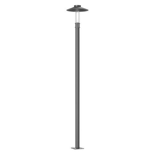 garden lamppost / contemporary / aluminum / PMMA