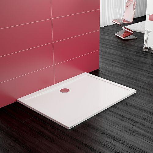 rectangular shower base / floor level / acrylic / extra-flat