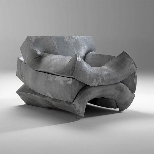 contemporary armchair - CASAMANIA HORM