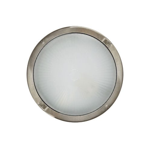 surface-mounted light fixture / compact fluorescent / incandescent / round