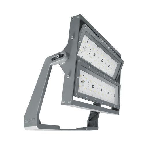 IP66 floodlight / LED / building / industrial