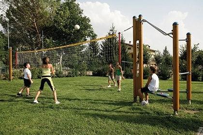 playground volleyball net