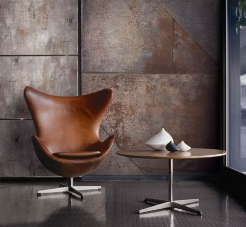 contemporary wallpaper / monochrome / metallic