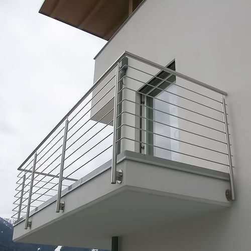 balcony with bars
