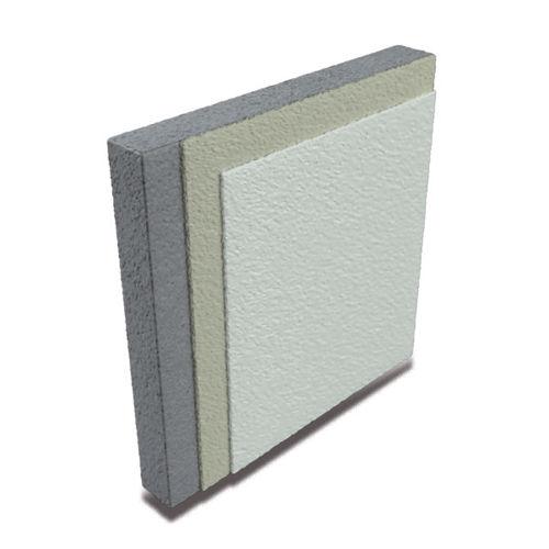 epoxy wallcovering / tertiary / satin / concrete look