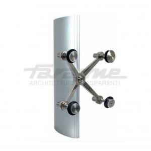 steel curtain wall fastening system
