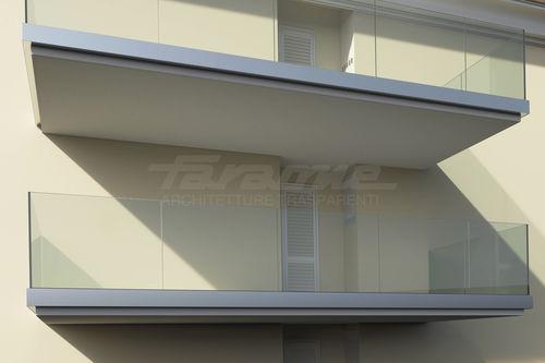 glass panel balcony