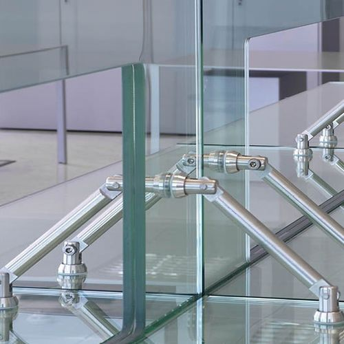 steel fastening system / stainless steel / for panels