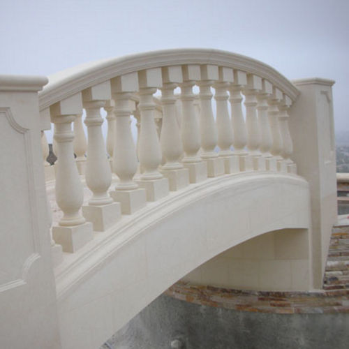 stone balustrade / outdoor / for balconies / for patios