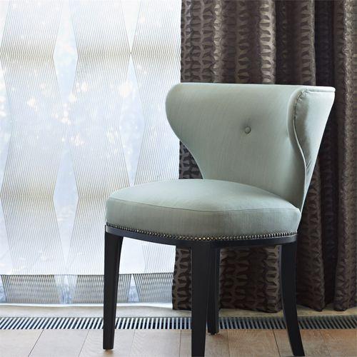 geometric pattern sheer curtain fabric