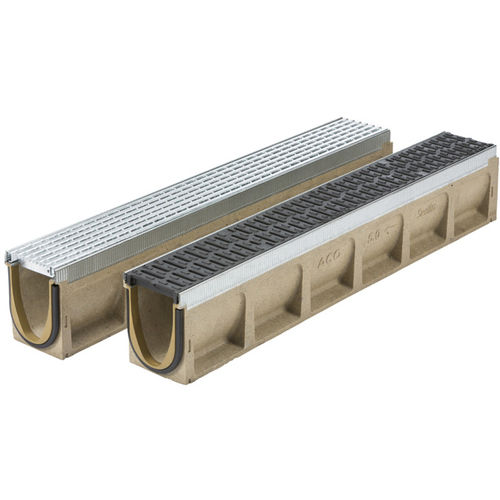 metal drainage channel