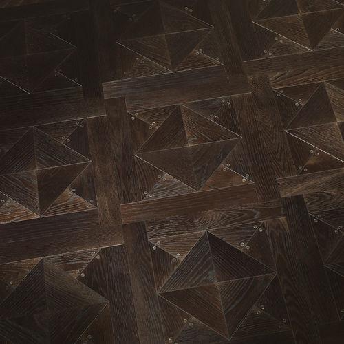 engineered parquet floor / glued / oiled / tile