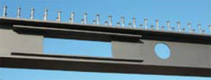 galvanized steel beam / I / welded