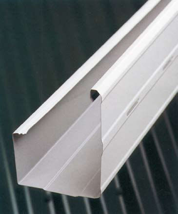 square roof gutter / steel