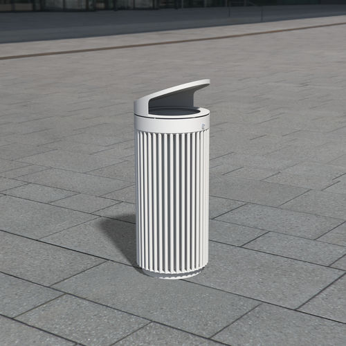 public trash can