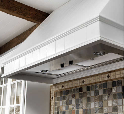 built-in range hood