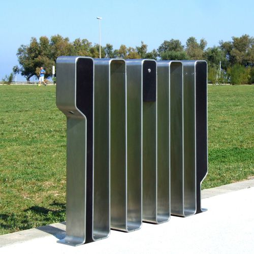 stainless steel bike rack
