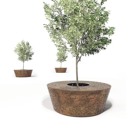 galvanized steel tree guard