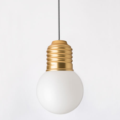 pendant lamp / contemporary / anodized aluminum / polyethylene