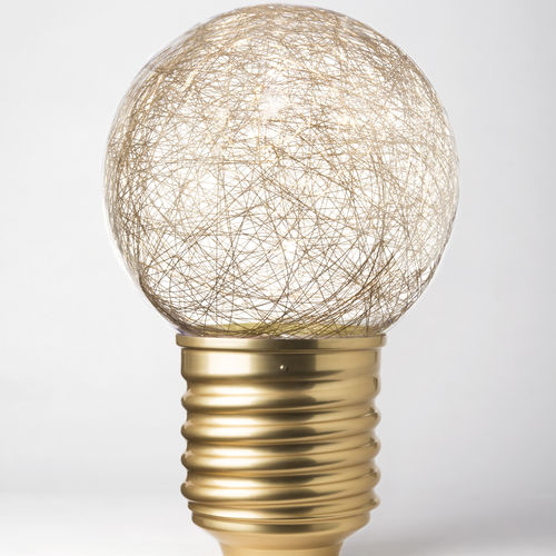 portable lamp / contemporary / anodized aluminum / PMMA