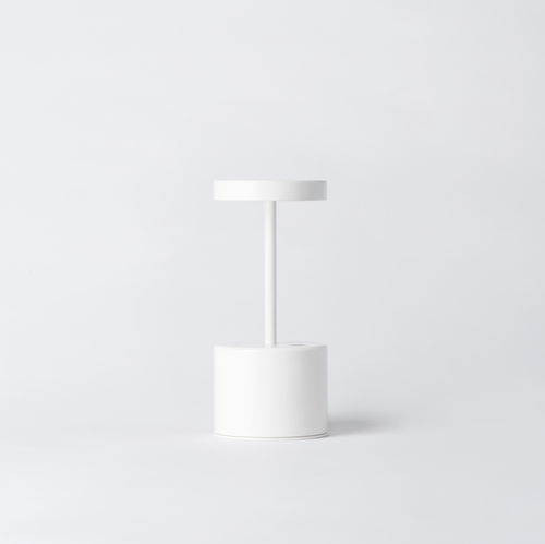 portable lamp / contemporary / painted aluminum / wireless