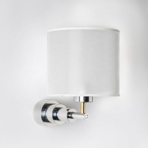 contemporary wall light / aluminum / brass / halogen
