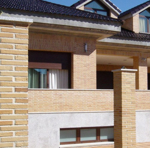 hollow brick / for partition walls / for facade / clinker