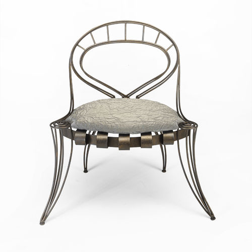classic garden chair / iron