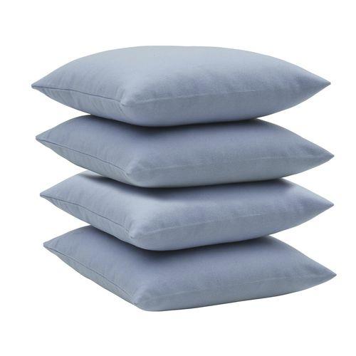 square cushion / plain / fabric / customizable