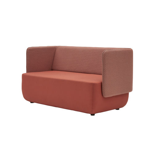 contemporary sofa / fabric / for public buildings / contract