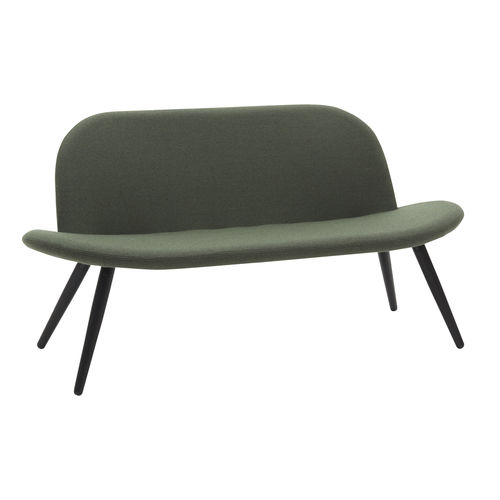 contemporary upholstered bench - SOFTLINE