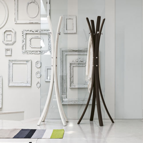 floor coat rack / contemporary / metal