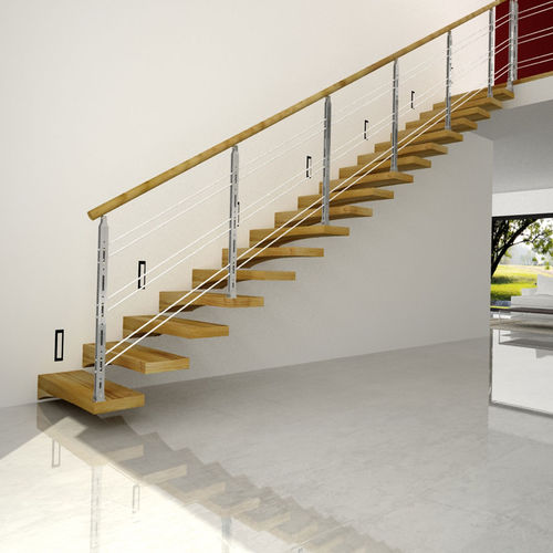 straight staircase - ITALIAN FASHION STAIRS