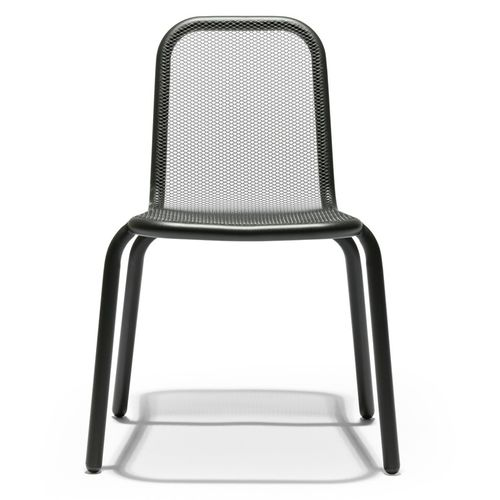 contemporary chair / child's / stainless steel / contract