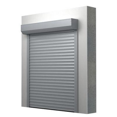 roll-up industrial door / aluminum