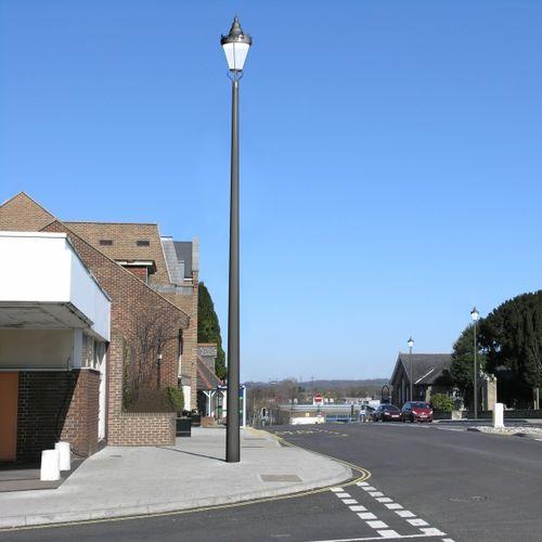 urban lamppost