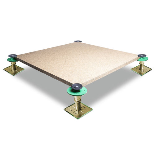 particle board raised access floor / acoustic / indoor