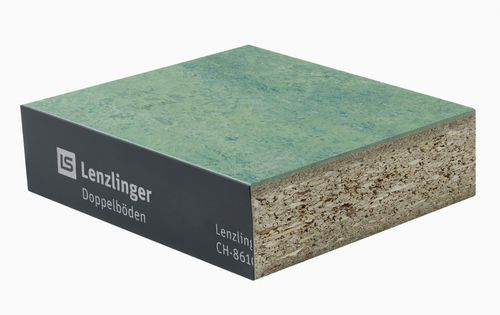 wooden raised access floor / particle board / high-pressure laminate / linoleum
