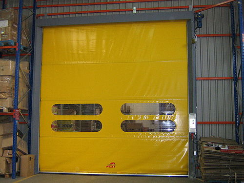roll-up industrial door